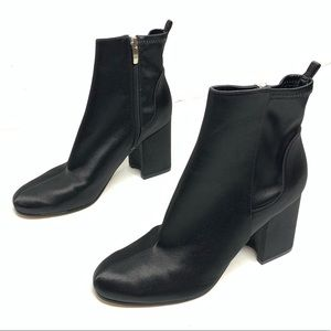 "Marc Fisher | The ""JANIE"" Black Heeled Bootie Sz 9"